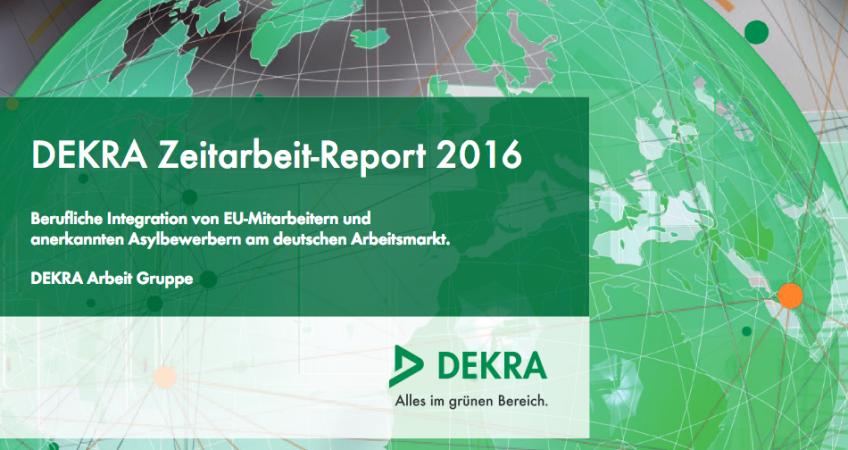 DEKRA Zeitarbeit Report 2016
